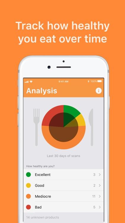 ShopJam: Packaged food scanner screenshot-4