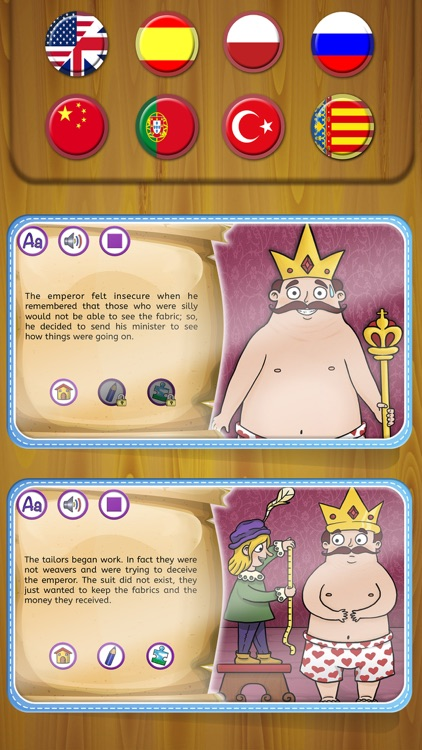 The Emperor's New Clothes Tale