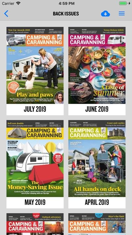 Camping & Caravanning Magazine screenshot-8