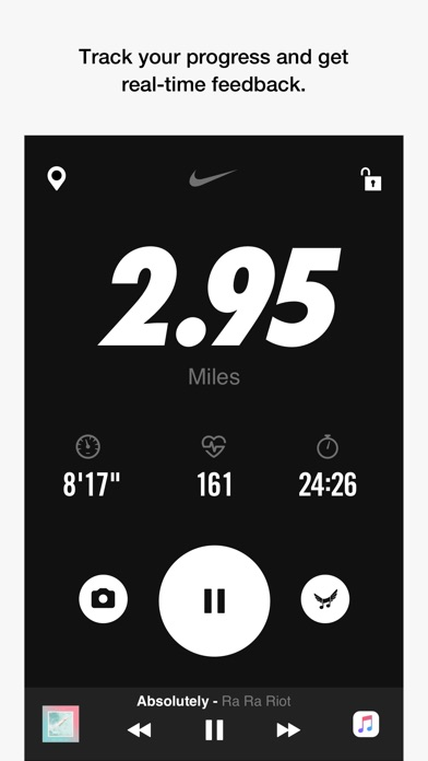 Screenshot for Nike Run Club in Czech Republic App Store
