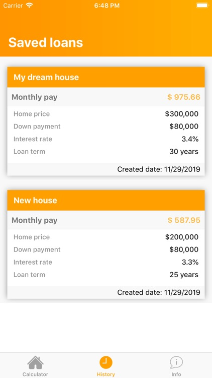 Mortgage payment calculator ND screenshot-3