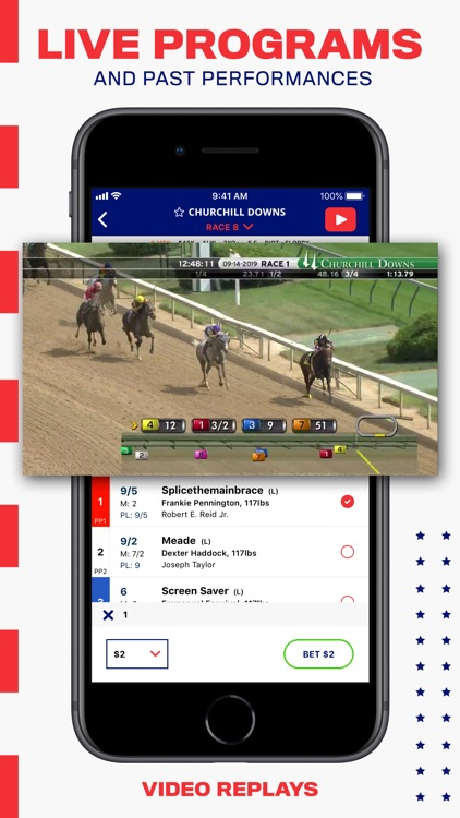 BetAmerica: Live Horse Racing screenshot-3
