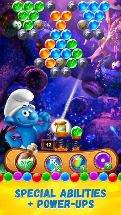 Download Smurfs Bubble Shooter Story for Pc