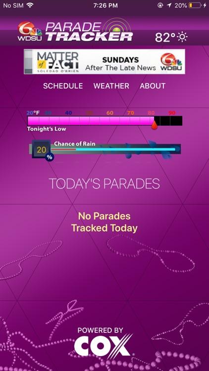 WDSU Parade Tracker screenshot-3