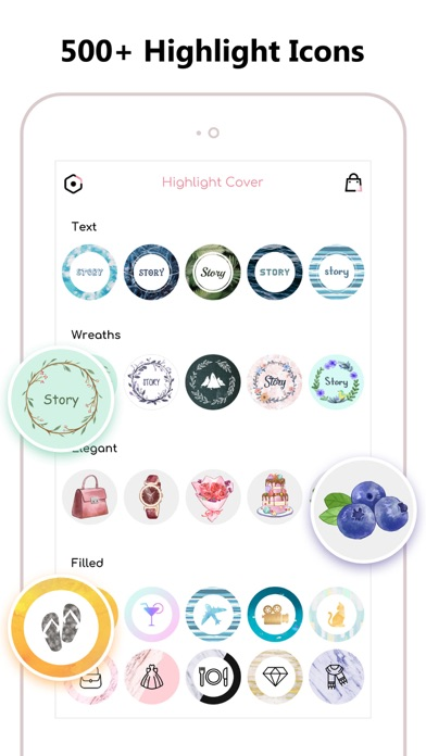 Screenshot #2 pour Highlight Cover Maker