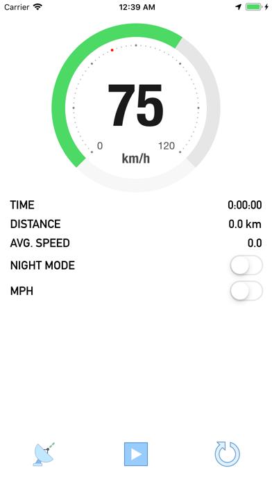 Bike Speedometer - 窓用