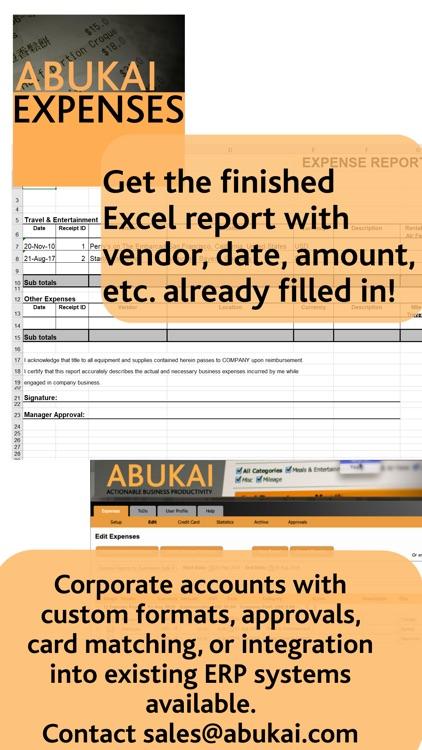ABUKAI Expense Reports Receipt screenshot-4