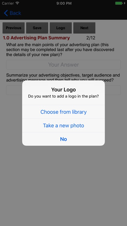 Advertising Plan Strategies screenshot-3