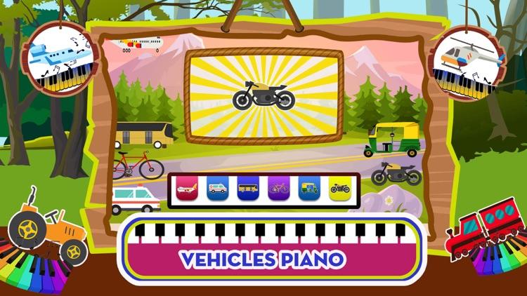 Baby Piano Animal Sounds Game screenshot-3