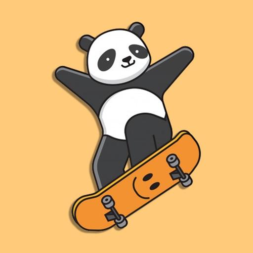 Best Friends Panda Stickers