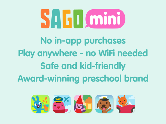 Sago Mini Airport screenshot 15