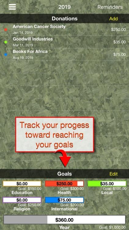 Give Tracker screenshot-3