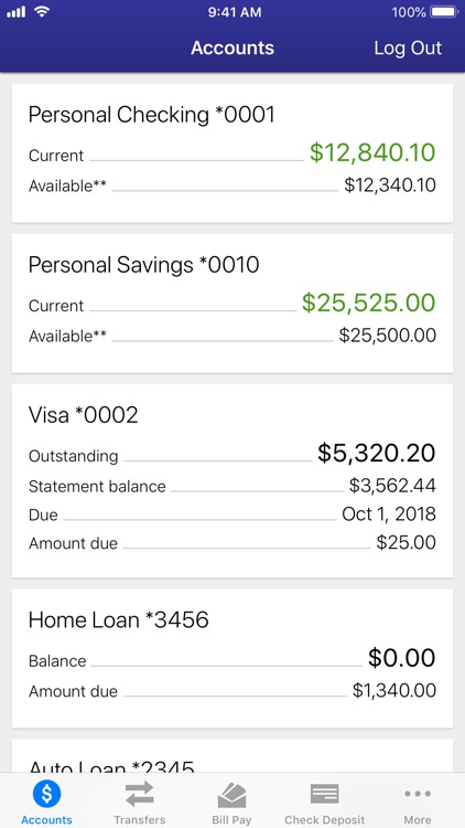 Safe 1 Mobile Banking screenshot-1