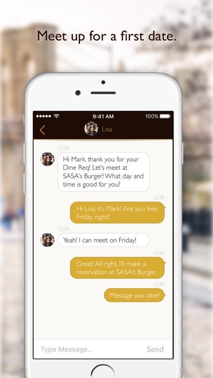 Dine Dating App screenshot-4