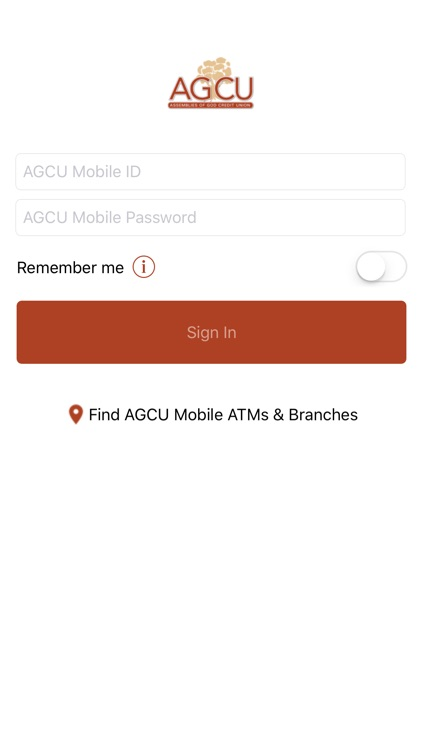 AGCU Mobile Banking screenshot-1