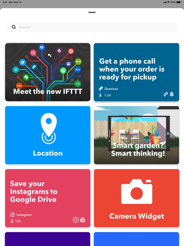 ‎IFTTT Screenshot