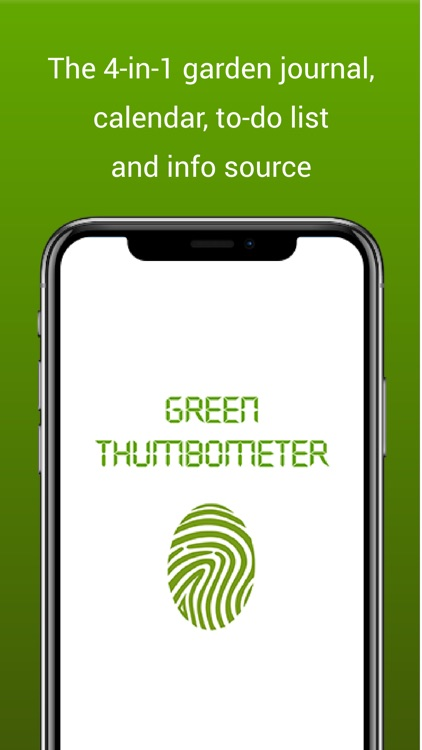 Green Thumbometer