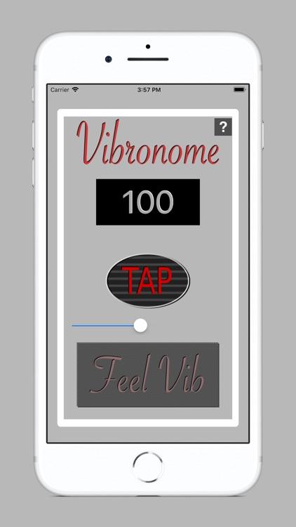 Vibronome - beats by vibration