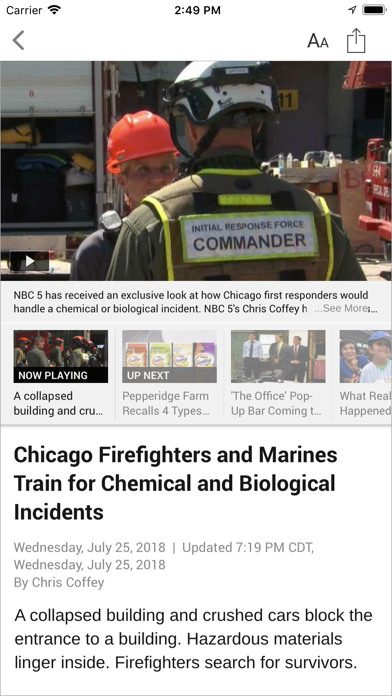 NBC Chicago App Profile  Reviews, Videos and More