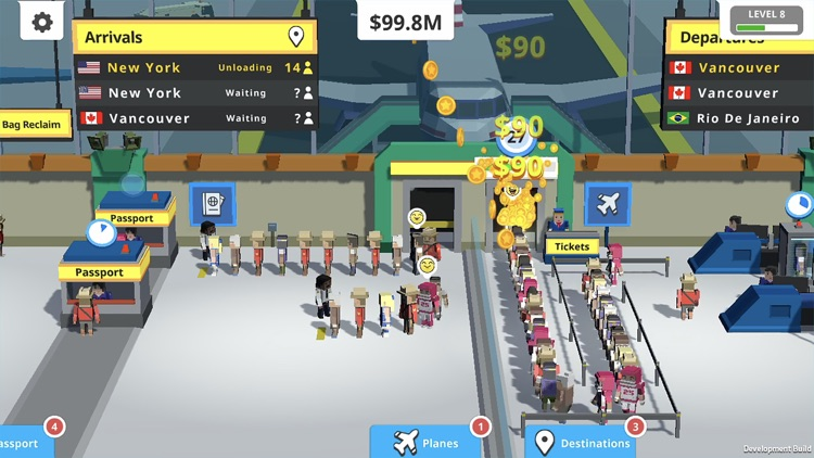 Idle Tap Airport screenshot-0
