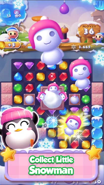 Ice Jewel Match screenshot-3