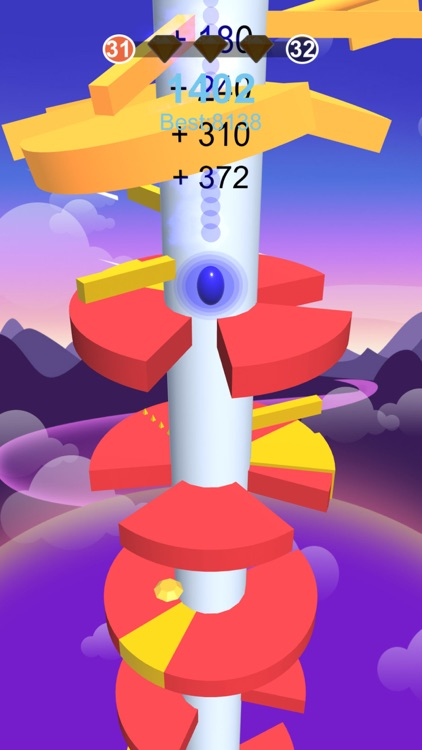 Hop Ball-Bounce On Stack Tower screenshot-0