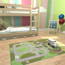 Activities of Escape in a child's room