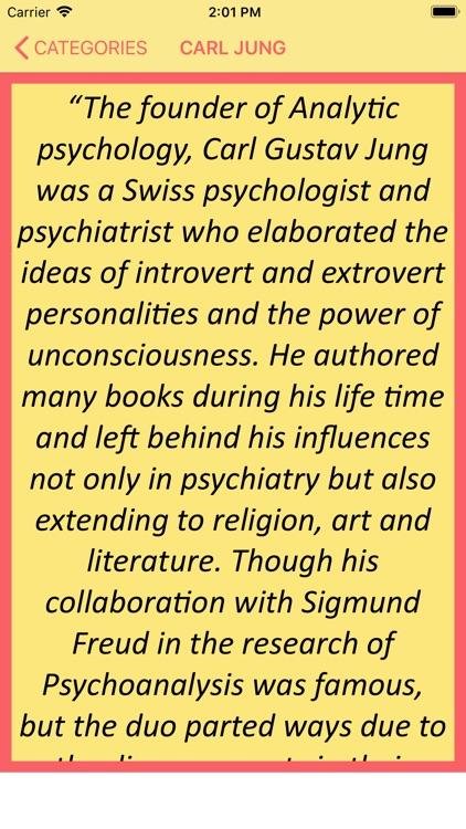 Musings of Carl Jung screenshot-3