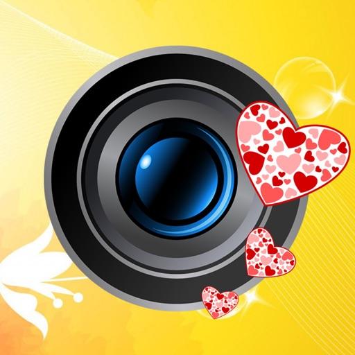Love Camera Art - Wish Card