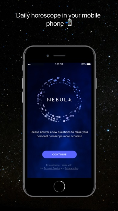 Nebula: Horoscope & Astrology screenshot 1