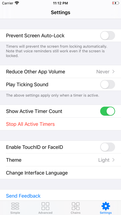 1Timer - Voice Timer Screenshots