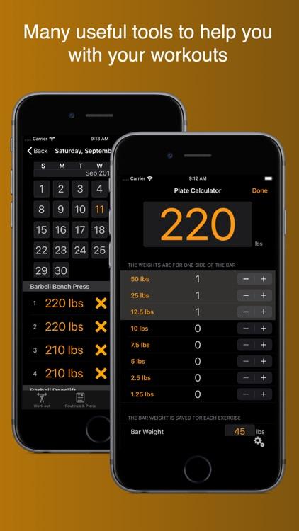Gym Horn: Workout Tracker Log screenshot-7