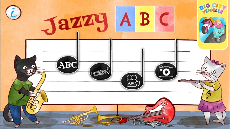 Jazzy ABC - Music Education screenshot-0