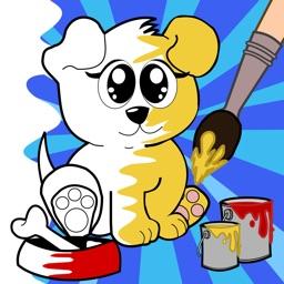 Kid Artist - Animals Coloring