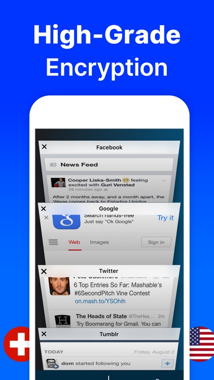 VPN proxy unlimited for phone screenshot-4