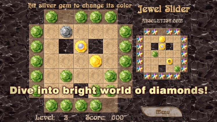 Jewel Slider: Match 3 Puzzle screenshot-4