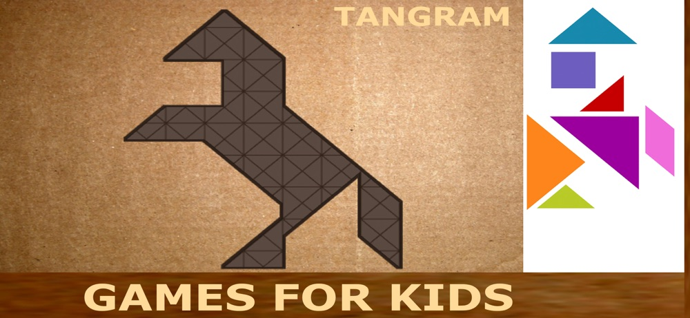 Games for kids 5 year: Tangram Cheat Codes