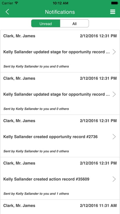 ClearView CRM Mobile screenshot-4