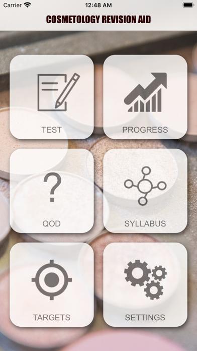Cosmetology Exam Revision Aid screenshot 1