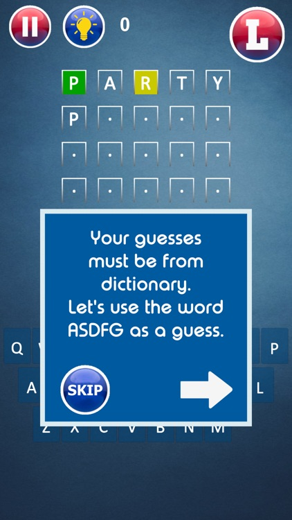 Guess the 5-6-7 Letter Word screenshot-9