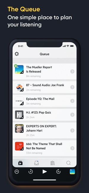 Castro Podcast Player Screenshot