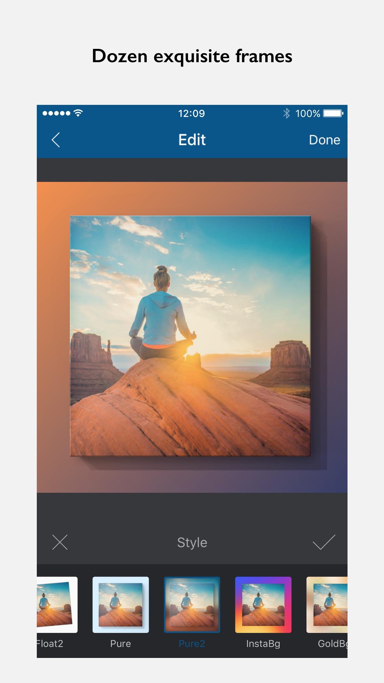 InFrame - Photo editor collage Screenshot