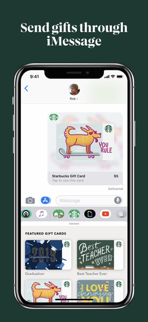 Starbucks on the App Store