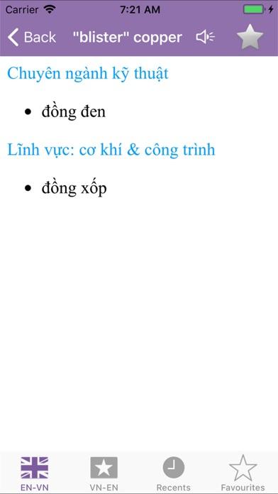 Dic English Vietnamese screenshot three