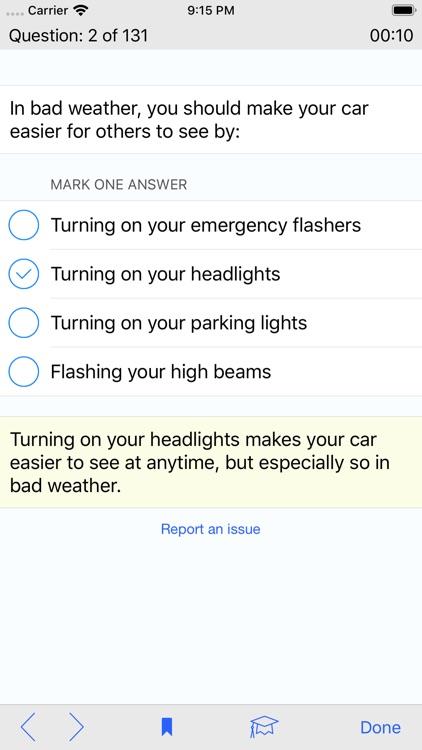 Kansas DMV Test Prep screenshot-4