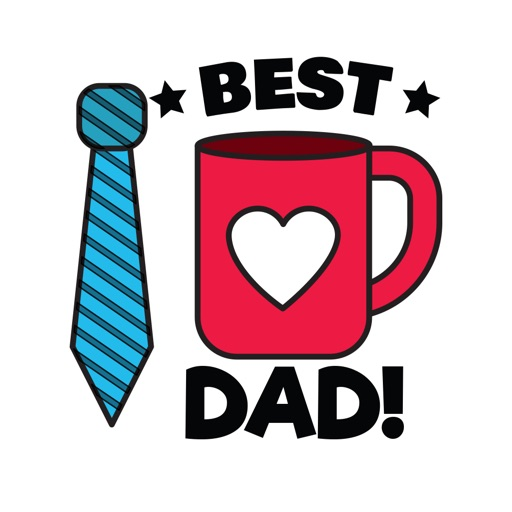 Father's Day Stickers ⋆