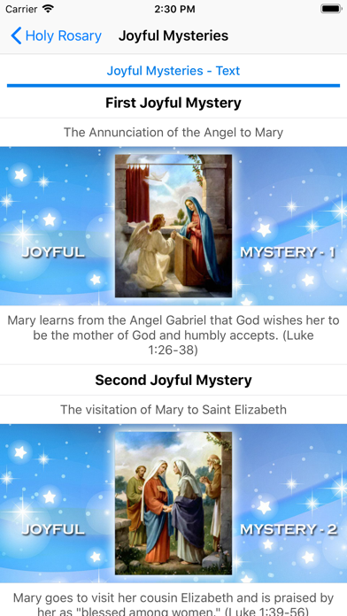 Holy Rosary With Audio & Text screenshot 4