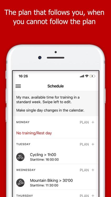 Plan2PEAK : Training Plan