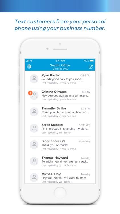 AT&T Landline Texting