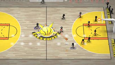 Screenshot from Stickman Basketball